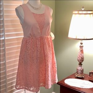 NWT Altar'd State Adorable Lace Skirt Dress